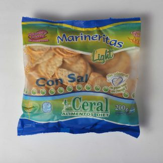 MARINERITAS LIGHT CON SAL 200GR CERAL