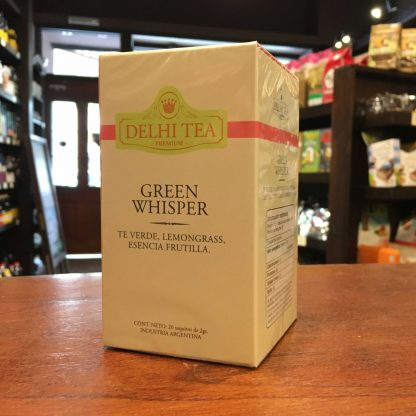 TE VERDE GREEN WHISPER 20 SAQUITOS DELHI TEA