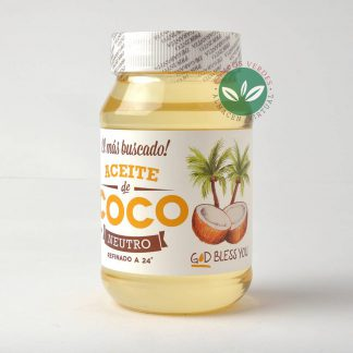 ACEITE DE COCO NEUTRO 500ML GOD BLESS YOU