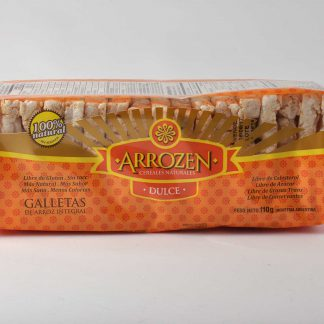 GALLETAS ARROZ DULCE 110GR ARROZEN