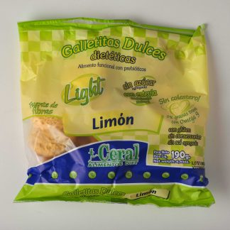 GALLETITAS DE LIMON 190GR CERAL