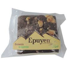 BROWNIE DE ALGARROBA LIGHT EPUYEN