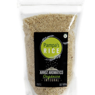ARROZ AROMÁTICO INTEGRAL 500GR. PAMPA RICE