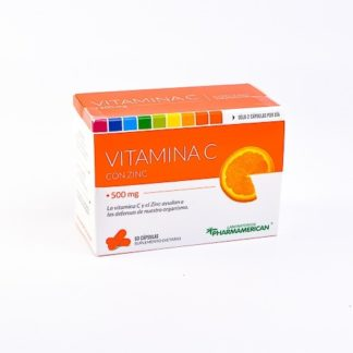VITAMINA C 500MG 60CAP PHARMAMERICAN
