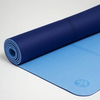 COLCHONETA MANDUKA YOGA WELCOME COLOR: PURE BLUE