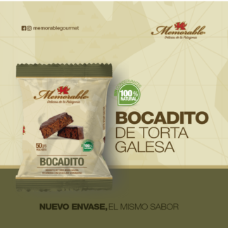 BOCADITO DE TORTA GALESA – MEMORABLE