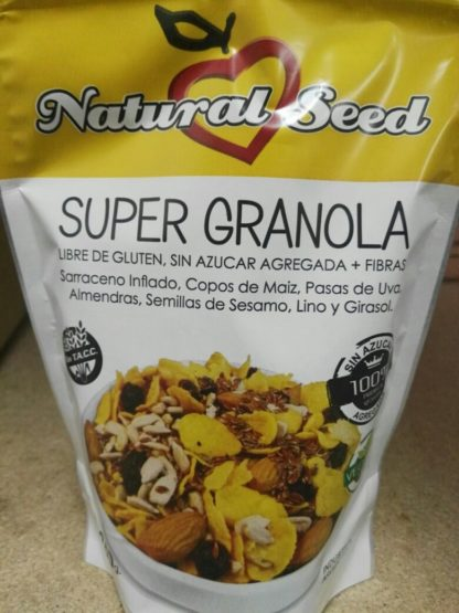 SUPER GRANOLA 250GR NATURAL SEED