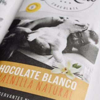 CHOCOLATE BLANCO CON LECHE – 70gr. – GET REAL