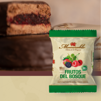ALFAJOR PATAGONICO DE FRUTOS DEL BOSQUE 90grs. – MEMORABLE