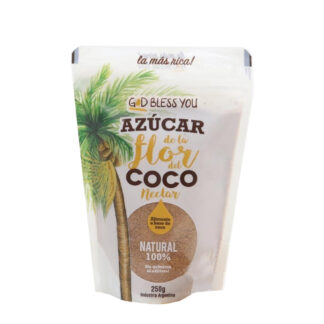 AZÚCAR DE COCO 250grs. – GOD BLESS YOU