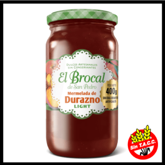 Mermelada de Durazno light 400grs. – El Brocal